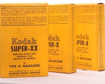 Kodak Super-X and Super-XX  Navy Film Magazines