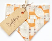 Dog bandana, doggy bandana, fun gifts for dogs, fox print bandana, dog gift, christmas gift, bandana for pets, gifts for pets,