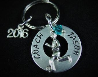 Soccer Coach Gift, Soccer Keychain, Soccer Team Gift