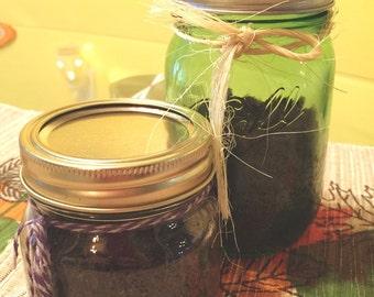 Organic face scrubs! Coffee & Aloe