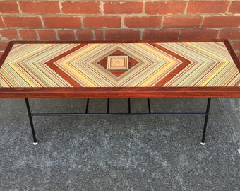 Recycled Skateboard Diamond table's