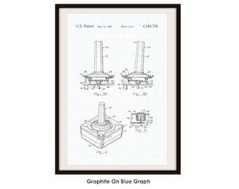 Atari Patent Poster Print (Not Framed)