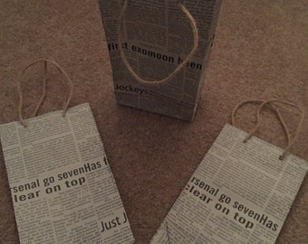 Newspaper Bag with Handle