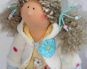 "art doll, handmade, handmade Doll ""Pia"", 16.5 inch"