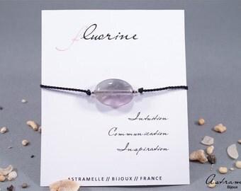 Woman fluorite bracelet