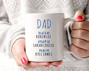 Mug for dad | Gift for dad | Dad gift | Father's day gift from son | dad gift from daughter | dad mug | gift mug | coffee mug