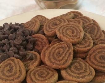 Organic Peanut Butter & Carob Dog Treats