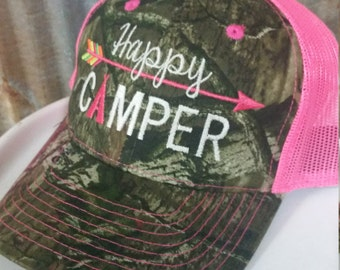 Happy Camper Hats