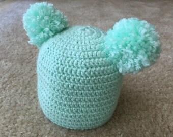 Baby hat (Baby beanie baby hat baby gifts newborn crochet hat newborn beanies)