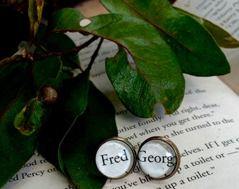Fred and George Earrings