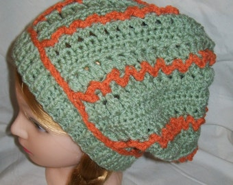 Crochet Slouch Hat -Tam