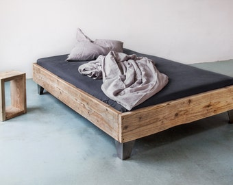 UpCycle Berlin bed from timber model: AMIT