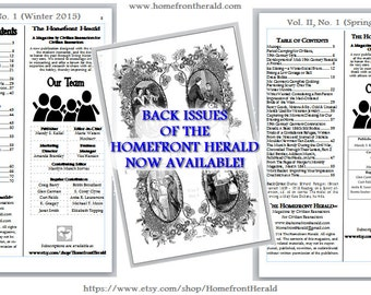 Back Orders of the Homefront Herald