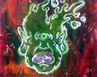 Green Slime Cyclopes by Rocko
