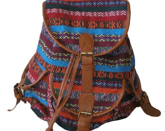 Backpack, Canvas Backpack, Faux leather, Bags and Purses
