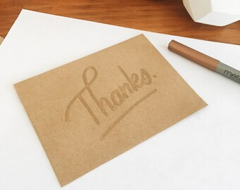 Thanks. Gloss on Matte Card