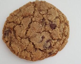 Nutty Chocolate Chip Cookies (One Dozen)
