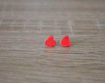 ears red heart smart