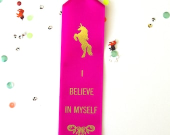 I Believe In Myself - Adult Award Ribbons