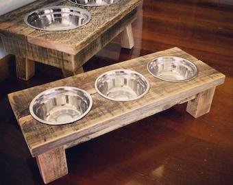Pallet Cat Bowl / Feeding Station