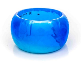 Resin Bangle Deep Blue #1508