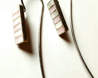 Pastel Palette Sterling Silver Earrings