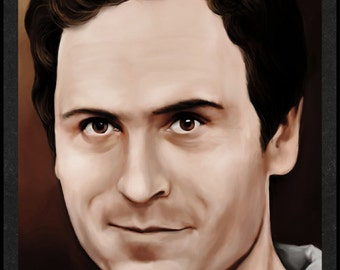 Ted Bundy is Card Number 46 from the New Serial Killer Trading Cards