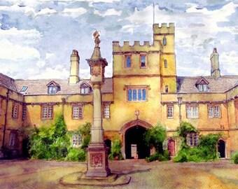 110 Corpus Christi College, Oxford