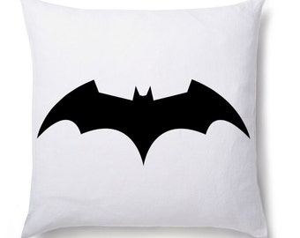 Batman Logo Printed Cushion Cover Gift Birthday