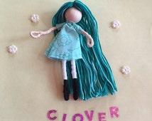 Alphabet Dolls - C Clover