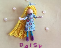 Alphabet Dolls - D Daisy