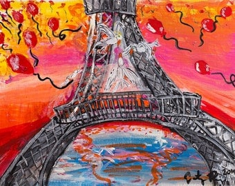 For Paris- print on magnet