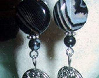 Four Circles - Sterling Earrings