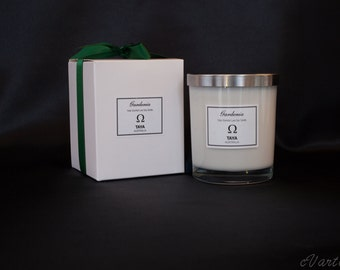 TRIPLE Scented Luxe Soy Wax Candles - Gardenia