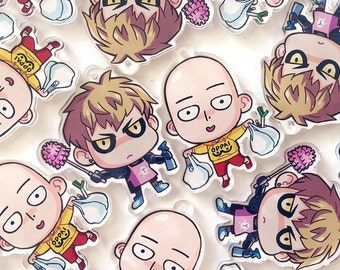 one-punch man: chores day charms