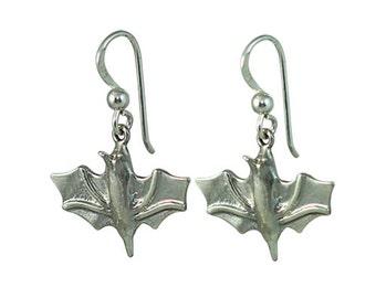 Bat Drop Earrings