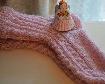 Knitted Pink socks