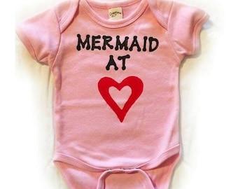 Baby girl printed onesie