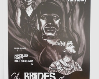 The Brides of Hannibal - A3 Hannibal Poster
