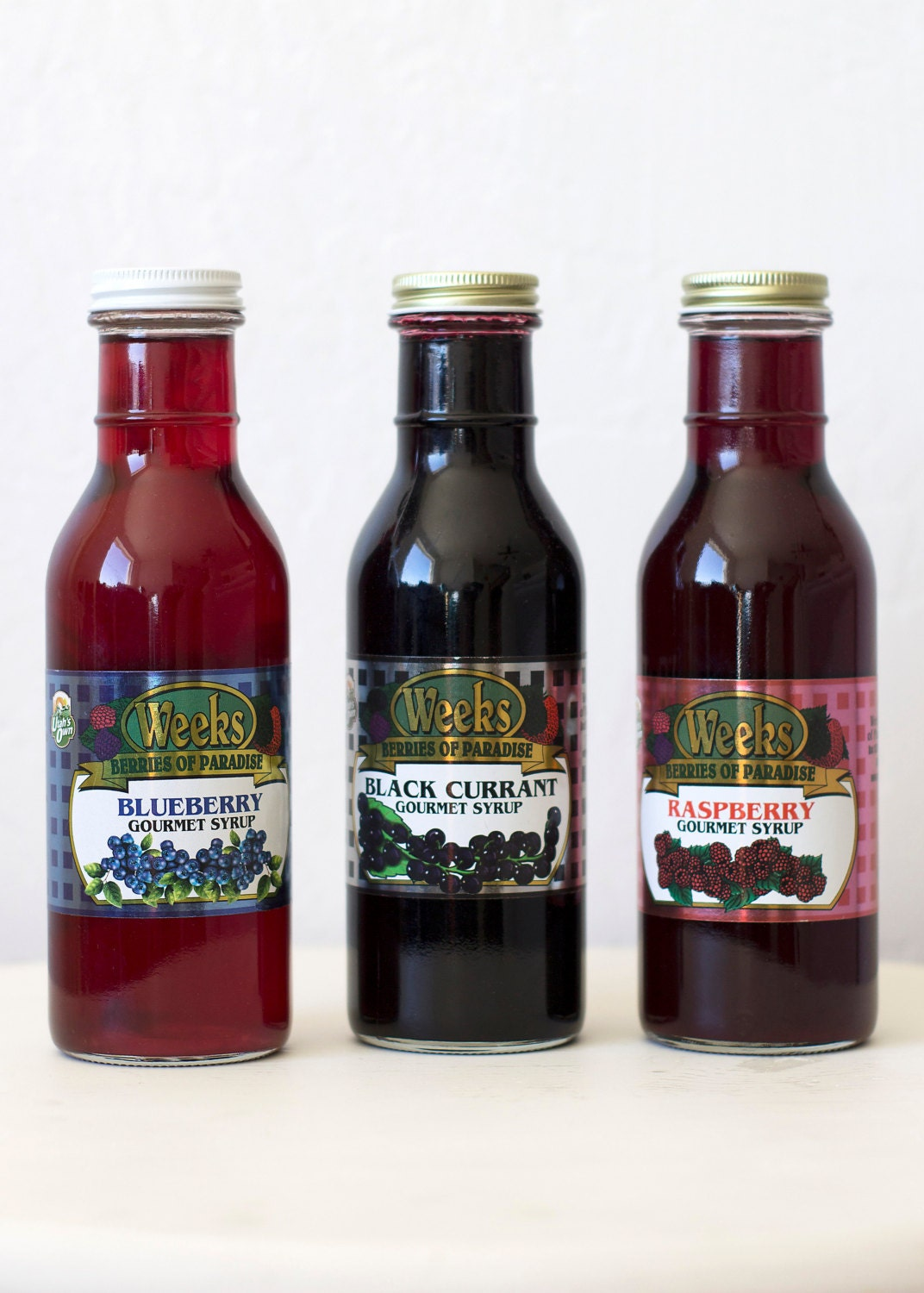 All Natural, Organic, Gourmet Blueberry Syrup - Utah's Own