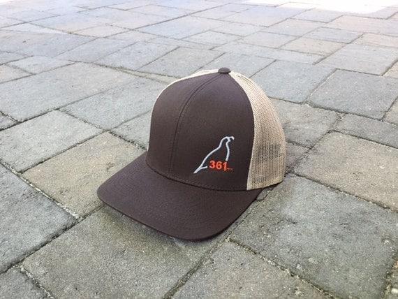 Area Code Art Area Code Texas Hunting Trucker Hat - 361 area code