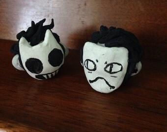 Zacharie clay heads
