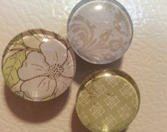 Glass Domed Magnets