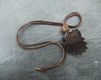 Small Oak Leaf Medicine Pouch Celtic Tree Ogham