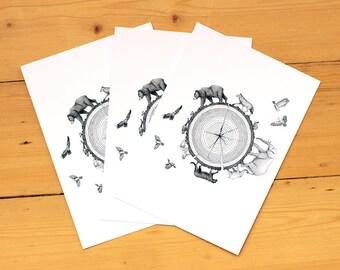 Habitat - Postcards