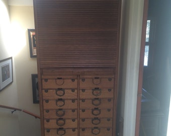 Victorian Vintage Ambergs patent Cabinet