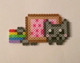 Nyan Cat Perler Art