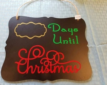 Count Down To Christmas Chalkboards