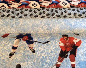 Unique Hockey Quilt Related Items Etsy