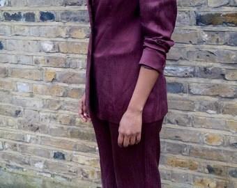 Vintage Silk Suit ( ON SALE )